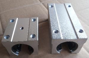 直线滑动单元支撑SBR圆柱直线导轨滑轨不锈钢压板滑块滑块