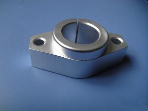 立式光轴支架卧式菱形光轴支撑座光轴固定座直线轴承滑块SHF8/10